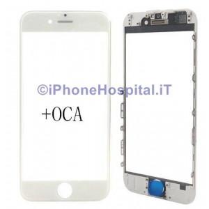 Schermo Vetro completo per iPhone 6  Bianco