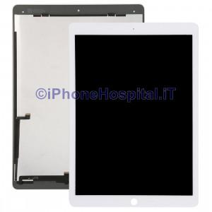 Schermo Vetro Touch Screen LCD Assemblato Bianco per iPad Air Pro