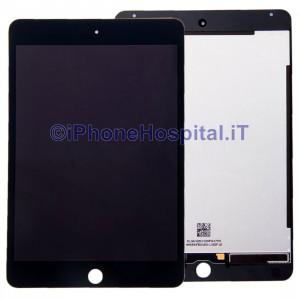 Schermo Vetro Touch Screen LCD Assemblato Nero per iPad Mini 4 A1538 - A1550