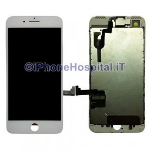 Schermo Vetro Touch Screen Lcd Assemblato per iPhone 7 Plus Color Bianco