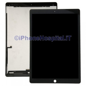 """Schermo Vetro Touch Screen LCD Nero per iPad Pro 9.7"""""""
