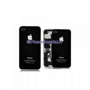 Sostituzione Vetro Backglass Iphone 4 Nero