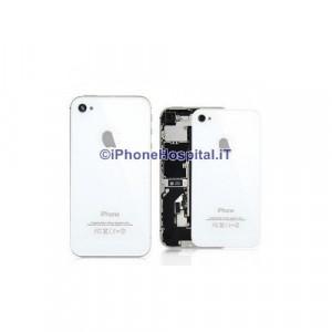 Sostituzione Vetro Backglass Iphone 4 Bianco