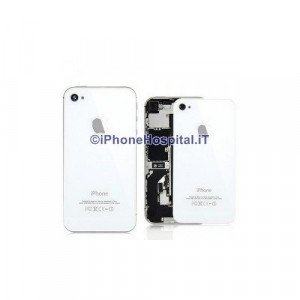 Vetro Backglass Iphone 4S Bianco