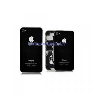 Sostituzione Vetro Backglass Iphone 4S Nero