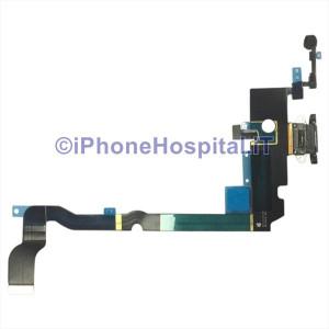 Connettore Ricarica Microfono Flat Colore Nero per iPhone XS Max