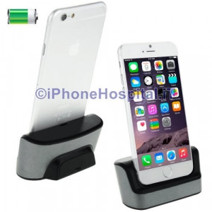 Stazione Dock Caricatore Sync per Apple iPhone 6 Silver