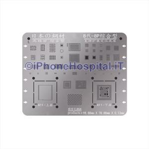 Stencil Reballing BGA per Apple iPhone 8 / 8 Plus