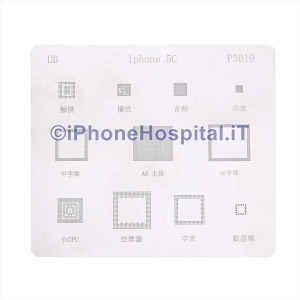 Stencil Reballing BGA per Apple iPhone 5C