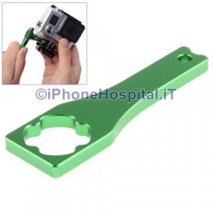 Strumento Chiave in Metallo per GoPro Hero 3+ / 3 / 2 Color Verde