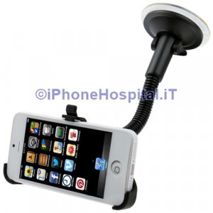 Supporto Auto con Ventosa per iPhone 5  5S  SE