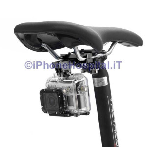 Supporto Bici per GoPro HERO 5/4 /3+ /3 /2 /1 & Xiaomi Camera Sport d'azione