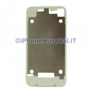 Supporto Retro Cover Bianco per Apple iPhone 4 / 4G