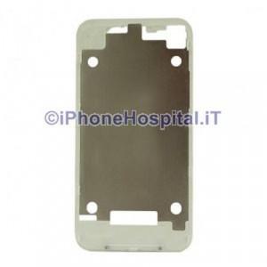 Supporto Retro Cover Bianco per Apple iPhone 4 / 4G