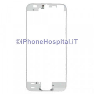 Supporto Vetro Touch Bianco iPhone 5S