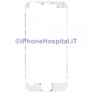 Supporto Vetro Touch Bordo Bianco iPhone 6 Plus