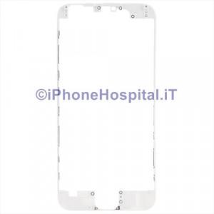 Supporto Vetro Touch Bordo Bianco iPhone 6 Plus