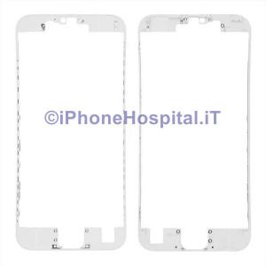 Supporto Vetro Touch Bordo Bianco iPhone 6S