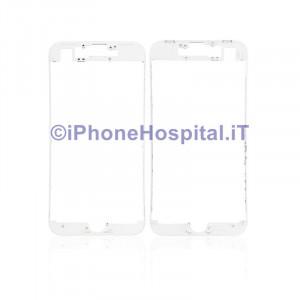 Supporto Vetro Touch Bordo Bianco per iPhone 8 ( A1863, A1905, A1906 )