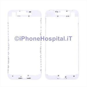 Supporto Vetro Touch Screen Bordo Bianco per iPhone 7