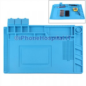 Tappetino Antistatico con Isolamento Termico  45cm x 30cm (Blue)