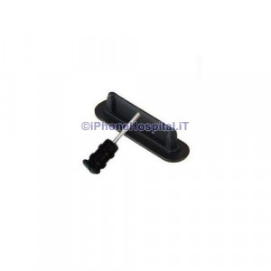 TAPPi ANTIPOLVERE PER DOCK E AUX IPHONE 2G 3G 3GS IPOD Nero