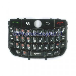 Tastiera color Nero per Blackberry 8900 Curve