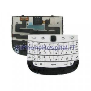Tastiera Completa per Blackberry 9900,9930 Bold Bianco
