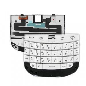 Tastiera con Sottotastiera per Blackberry 9900,9930 Bold Bianco