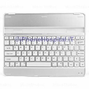 Tastiera Wireless Bluetooth Aluminum Ultra-Slim QWERTY per Apple iPad 2/3/4
