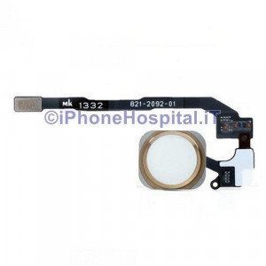 Tasto Home - Flex Cable per iPhone 5S Assemblato Gold