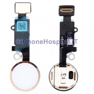 Tasto Home - Flex Cable per iPhone 7 Assemblato Oro ( Gold )
