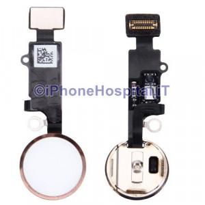 Tasto Home - Flex Cable per iPhone 7 Assemblato Rosa Oro (Rose Gold )