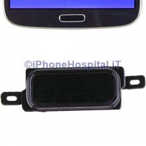 Tasto Home color Nero per Samsung Galaxy Note i9220 N7000