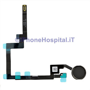 Tasto Home Flex Cable Nero per iPad Mini 3 Assemblato