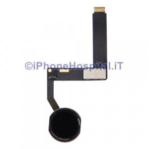 Tasto Home Nero - Flex Cable per iPad Pro 9.7""