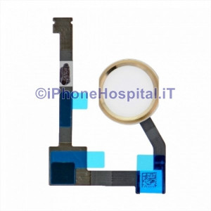 Tasto Home Oro - Flex Cable per iPad Air 2 /iPad Mini 4/iPad Pro 12.9""