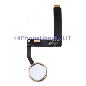 Tasto Home ORO - Flex Cable per iPad Pro 9.7""