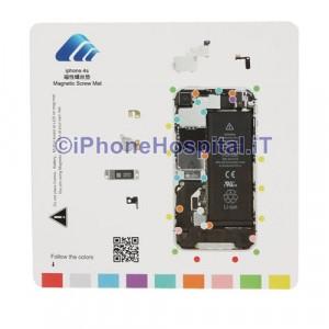 Tavoletta Magnetica Alloggiamento Viti per iPhone 4S
