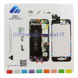 Tavoletta Magnetica Alloggiamento Viti per iPhone 5 ( A1428 - A1429 )
