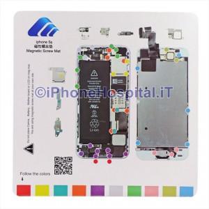 Tavoletta Magnetica Alloggiamento Viti per iPhone 5S A1457