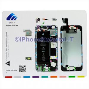 Tavoletta Magnetica Alloggiamento Viti per iPhone 6 A1586