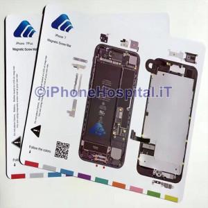 Tavoletta Magnetica Alloggiamento Viti per iPhone 7
