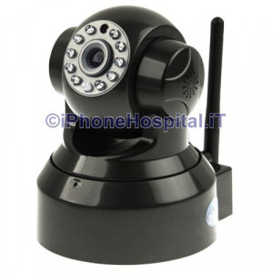 Telecamera Wireless IP PT Dome 2 CH Audio TF Card