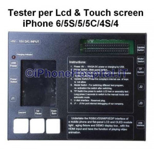 Tester per Lcd & Touch Screen iPhone 6P/6/5S/5/5C/4S/4