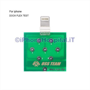 Tester Pin Connettore Dock USB per iPhone