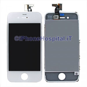 Touch + Lcd  per iPhone 4G Bianco