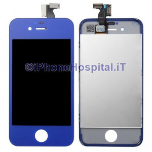 Touch + Lcd per iPhone 4G Blue