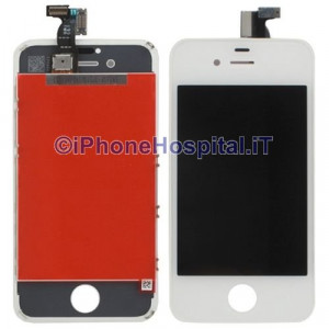 Touch + Lcd  per iPhone 4S Bianco