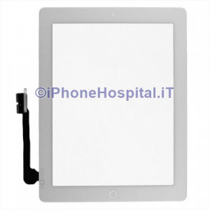 Touch Screen Bianco Assemblato Per iPad 3 Alta Qualita'